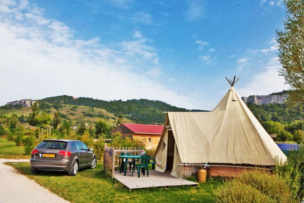 Camping la Roche d'Ully - Camping met laadpaal